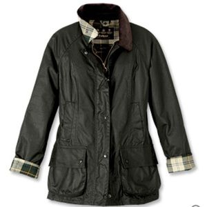Barely Worn Barbour Beadnell Wax Jacket, US size 6